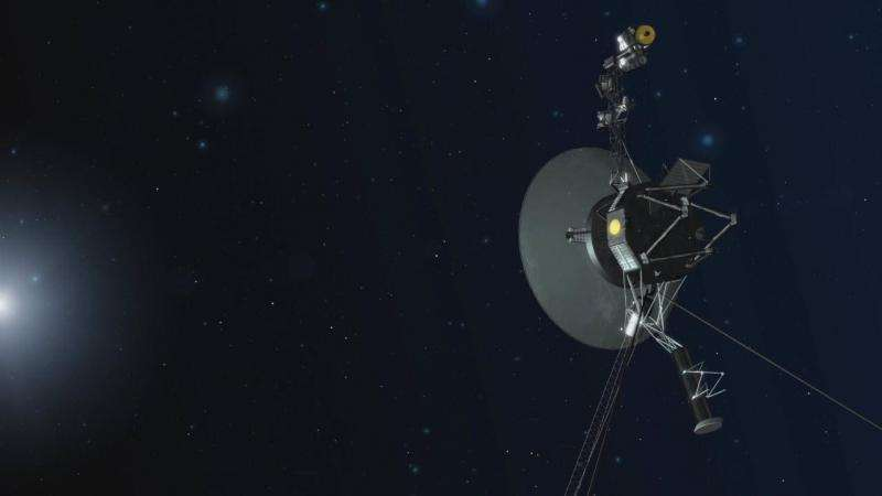 NASA's Voyager spacecraft still reaching for the stars and setting records after 40 years