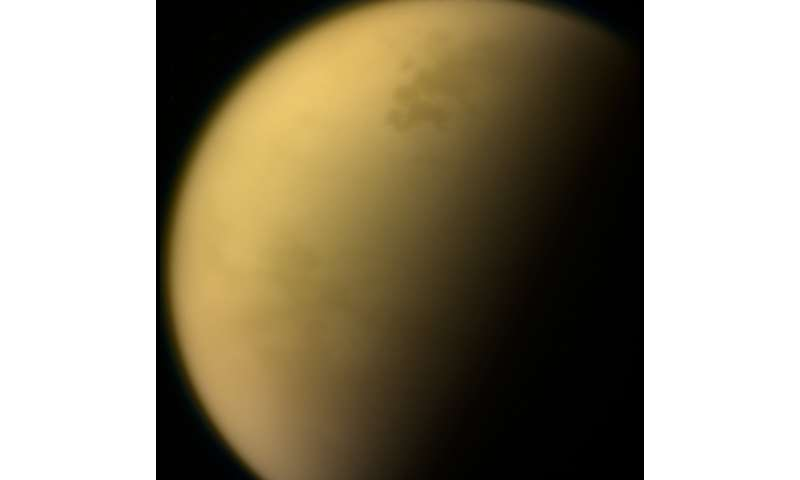 NASA team finds noxious ice cloud on saturn's moon titan