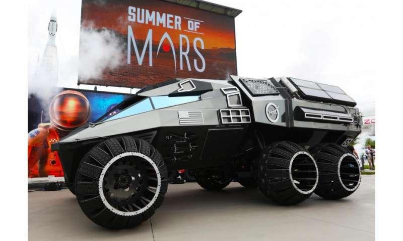 NASA unveils Mars rover concept vehicle
