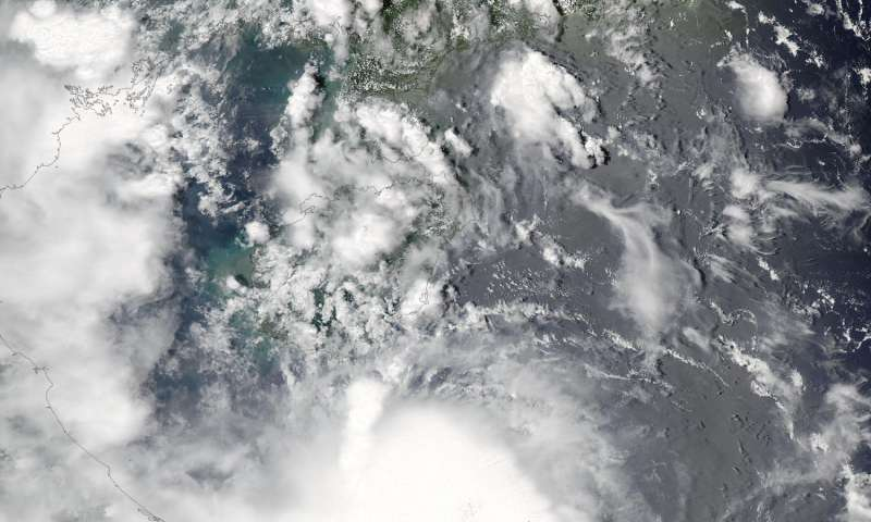 NASA watches as Vietnam braces for Tropical Storm Sonca