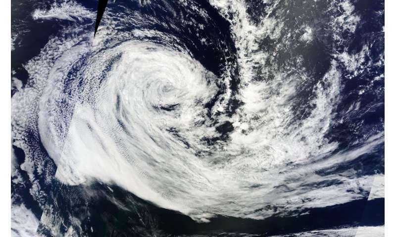 NASA watching remnants of ex-Tropical Cyclone Carlos