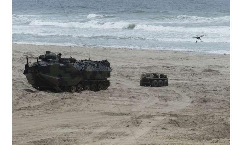 Navy, Marine Corps spotlight the future of amphibious, autonomous warfare