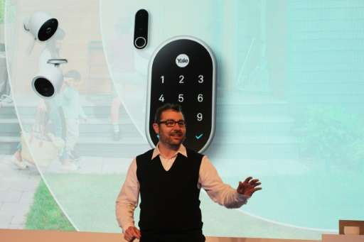 Nest co-founder Matt Rogers discusses an array of new home-security devices, including a video-camera doorbell and outdoor secur