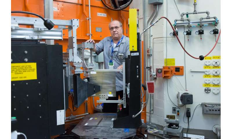Neutrons aim at improving integrity in dissimilar metal welds