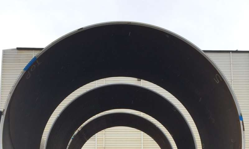 Neutrons improve weld integrity of underwater wind turbine foundations