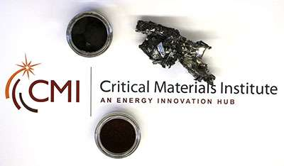 New acid-free magnet recycling process