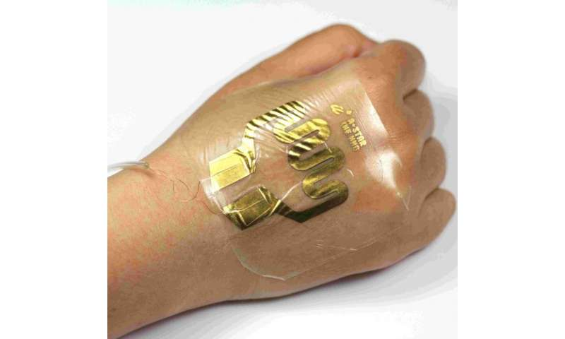 New adhesive sensor can save patients the discomfort and of pain leaky intravenous drips