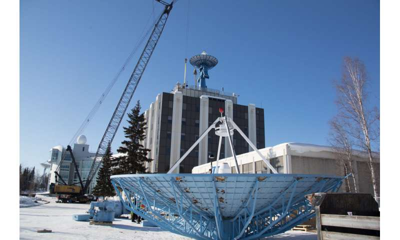New antenna in Alaska expands spacecraft communications capabilities