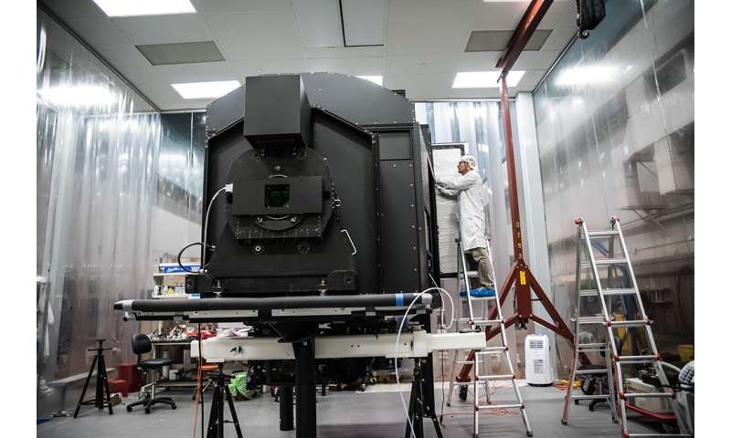 New Caltech instrument poised to image the cosmic web