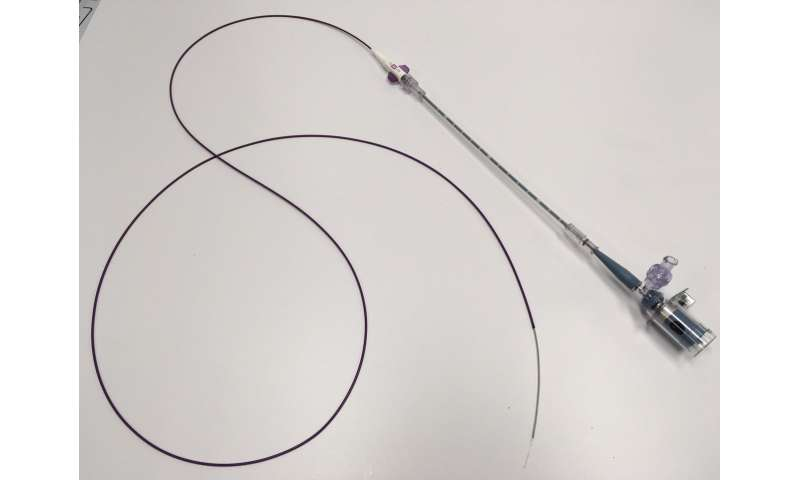 New cardiac catheter combines light and ultrasound to measure plaques