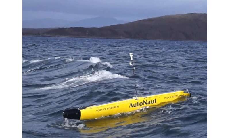 New CO2 device for unmanned ocean vessels