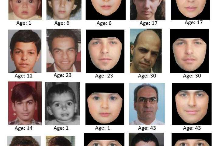 New face-aging technique could boost search for missing people
