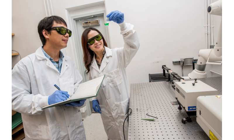 New light-activated catalyst grabs CO2 to make ingredients for fuel