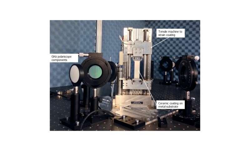 New optical method pinpoints weak spots in jet engine thermal coatings