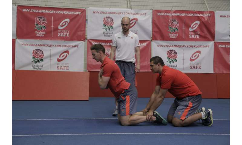 New prevention exercise programme to reduce rugby injuries