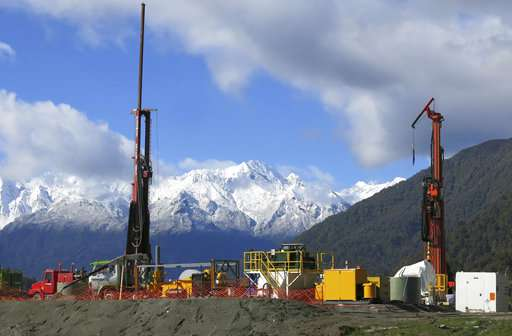 New Zealand quake scientists discover surprise: Hot water
