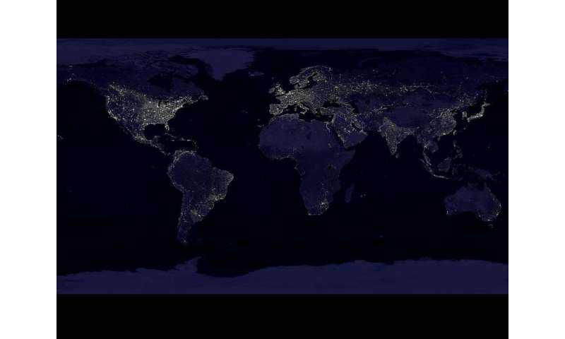 Night lights, big data