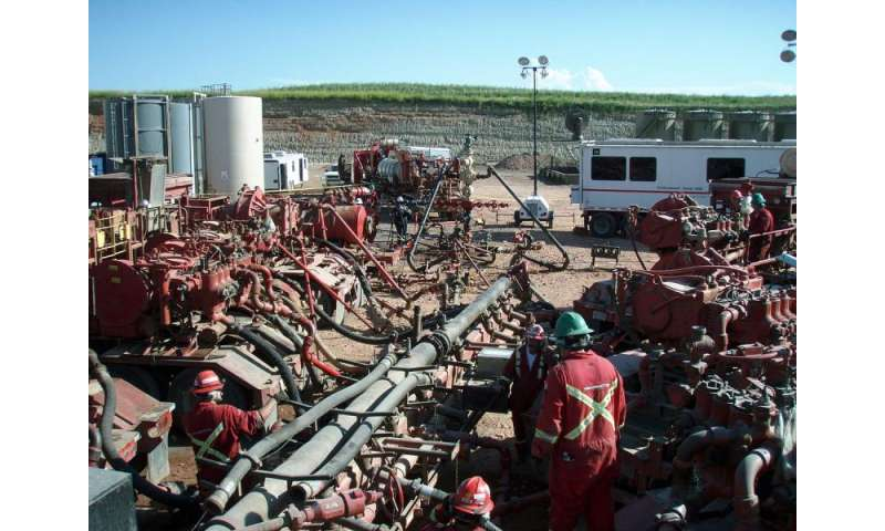 Noise pollution from fracking may harm human health