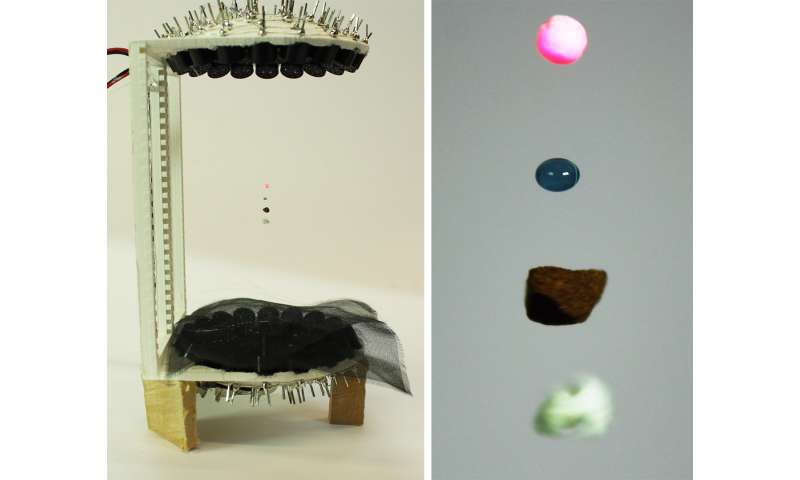 Now you can levitate liquids and insects at home