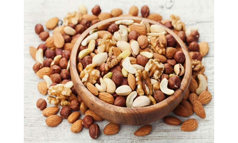 Nut consumption linked to nutritionally rich food intake