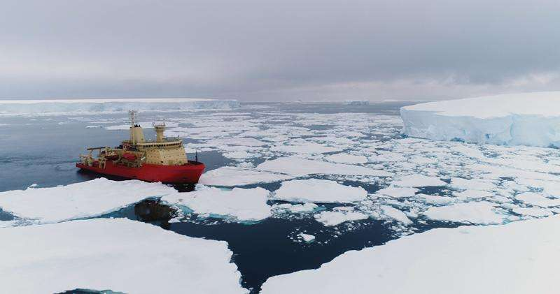 Oceanographer dropping robotic floats on voyage to Antarctica
