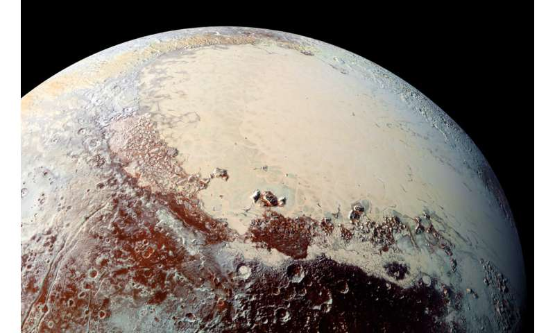 Official naming of surface features on Pluto and its satellites: First step approved