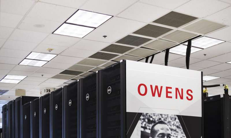Ohio Supercomputer Center runs largest scale calculation ever