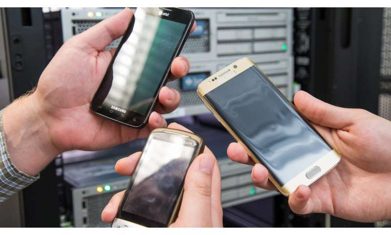 Old phones get new life in high-powered computer servers