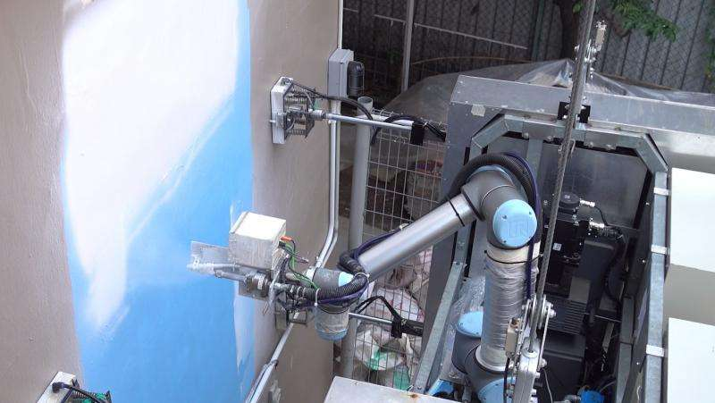 Outobot An Innovative Robot To Wash And Paint High Rise Buildings