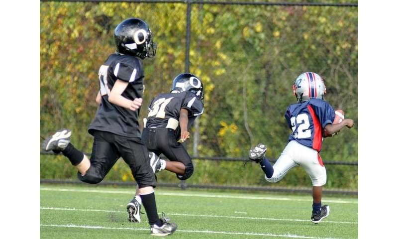 Overuse injuries don't impact young football players