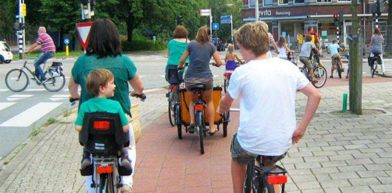 People take to their bikes when we make it safer and easier for them