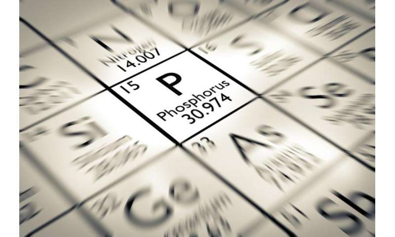 Phosphorus is vital for life on Earth – and we're runninglow