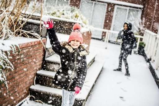 Plans for a giant snow ball fight outside the central station in The Hague attracted several hundred likes on Facebook