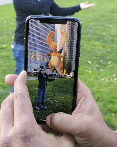 'Pokemon Go' unleashes its critters in Apple's AR playground