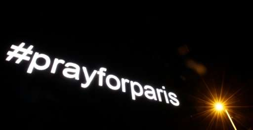 #prayforparis went viral in the wake of the deadly attacks in Paris in November 2015 in which 130 were killed
