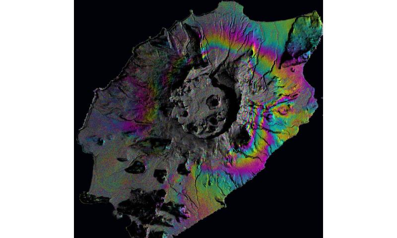 Predicting eruptions using satellites and math
