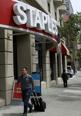 Private equity firm Sycamore Partners announced plans to buy office-supply chain Staples for $6.5 billion after US regulators bl