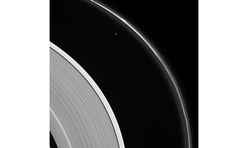 Prometheus and the Ghostly F Ring