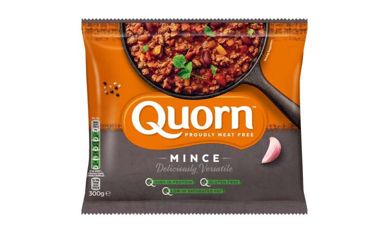 Quorn protein on par with animal sources