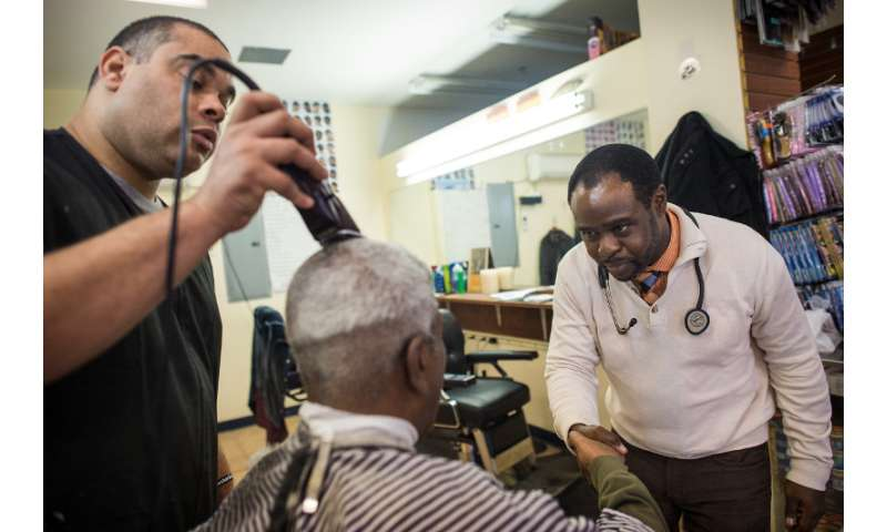 Reaching black men in barbershops could lead to early detection of colorectal cancer