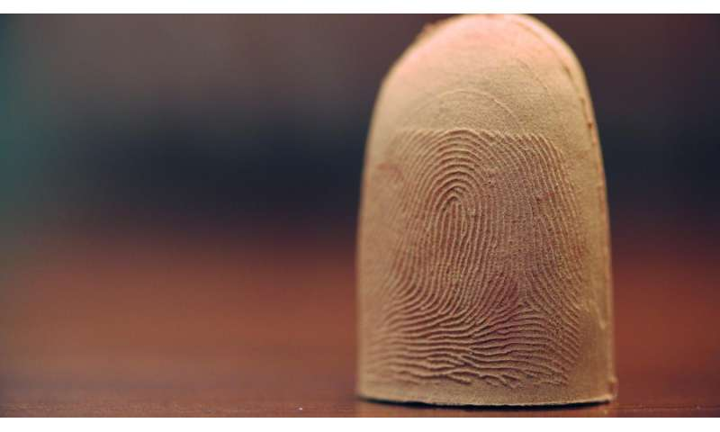 Real or fake? Creating fingers to protect identities