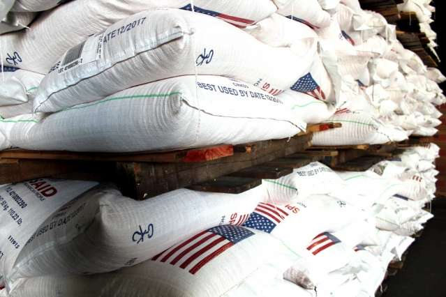 Reducing spoilage in food aid shipments