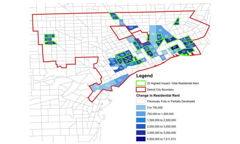 Revitalizing Detroit requires development of specific neighborhoods