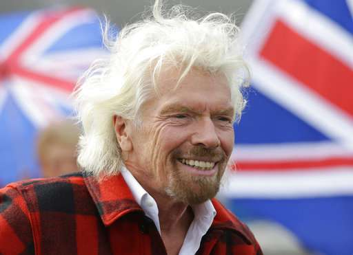 Richard Branson dishes on Virgin, space and the Obamas