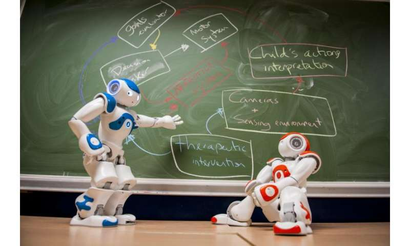 Robots to help children with autism