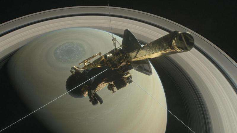 Saturn plunge nears for Cassini spacecraft