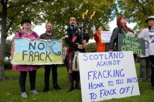 """Scotland's government said it would be banning fracking, extending the current moratorium """"indefinitely"""" following a c"""