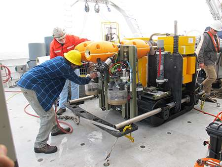 Seafloor robot breaks a world record and reveals new data for climate change modeling