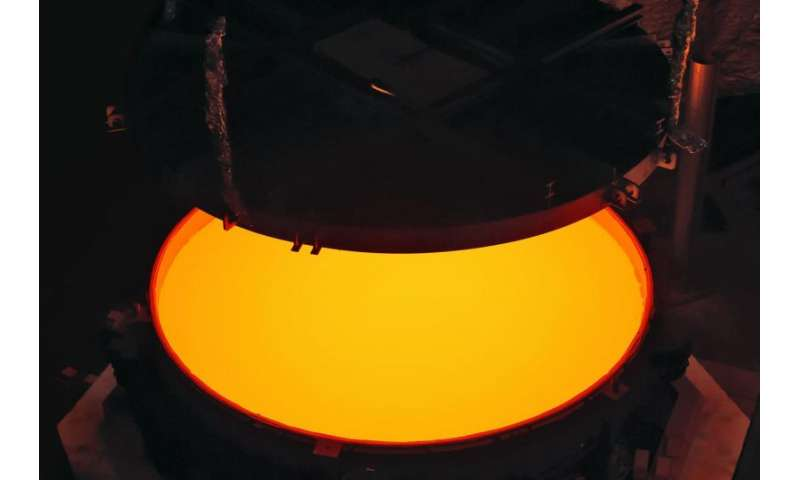 Secondary mirror of ELT successfully cast — largest convex mirror blank ever created