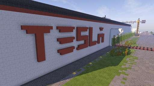 Seeking attention, Lithuania builds virtual Tesla factory